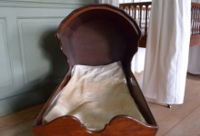 Walnut Cradle, c. 1780-1800
