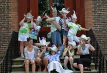 Colonial Kids' Camp 2015