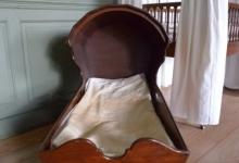 Walnut Cradle, c. 1780-1800