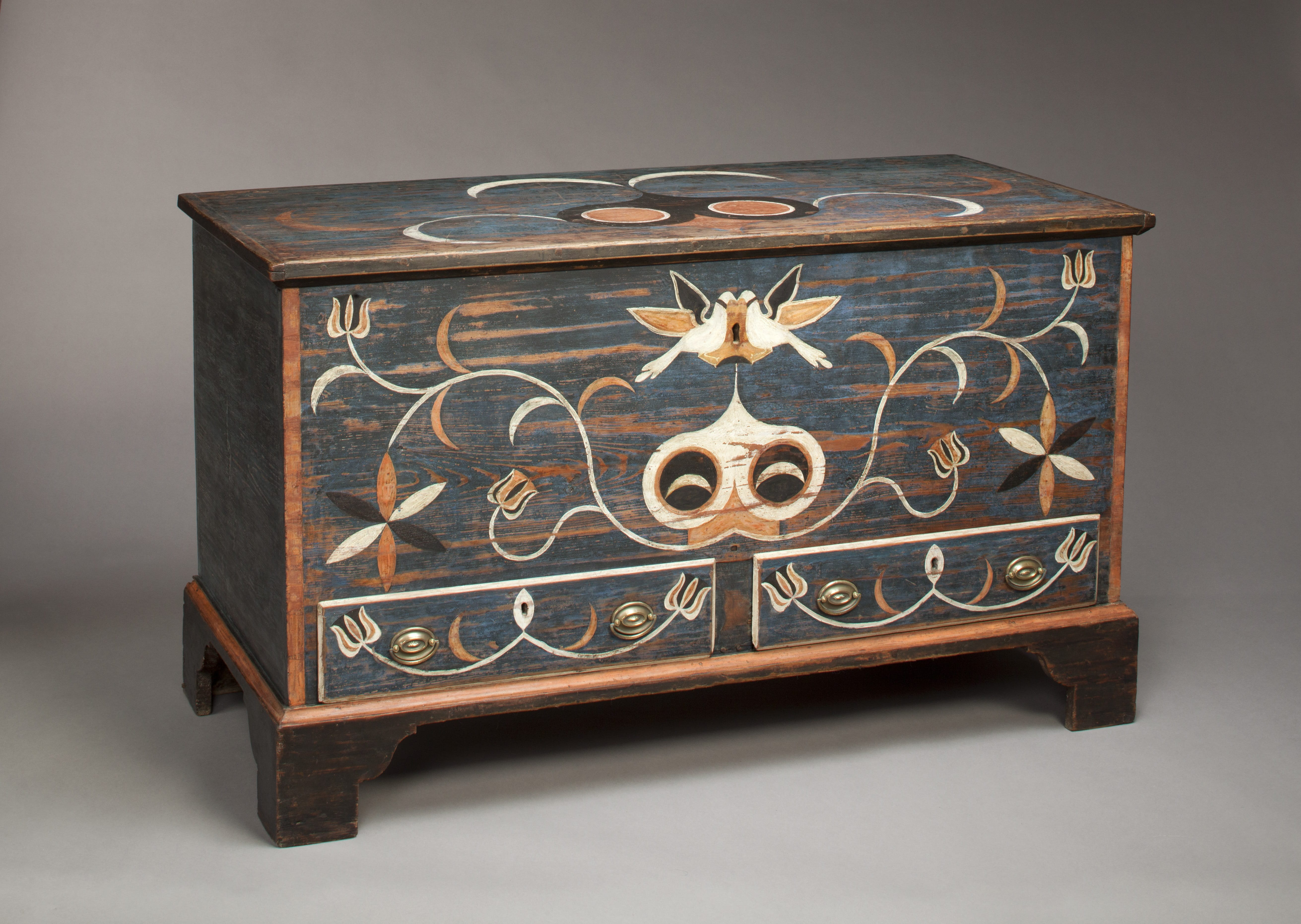 Shenandoah S Page Valley Style The Painted Furniture Of John Spitler 1790 1806 Wilton House Museum