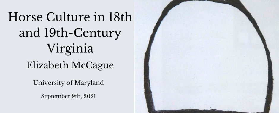 Horse Culture of 18th and 19th Century Virginia