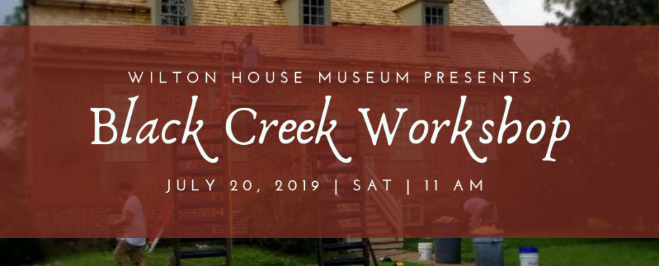 Wilton Makers: Black Creek Workshop